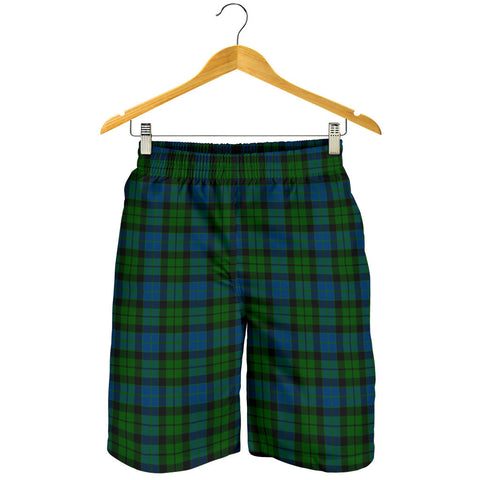 MacKay Modern Tartan Shorts For Men