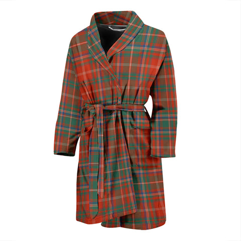 MacDougall Ancient Tartan Mens Bathrobe