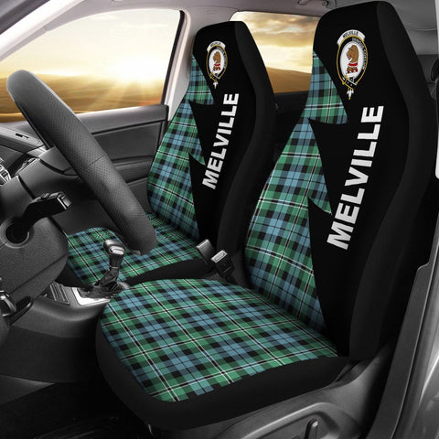 Melville Clans Tartan Car Seat Covers - Flash Style