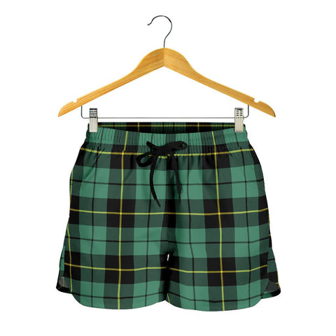 Wallace Hunting Ancient Tartan Shorts For Women