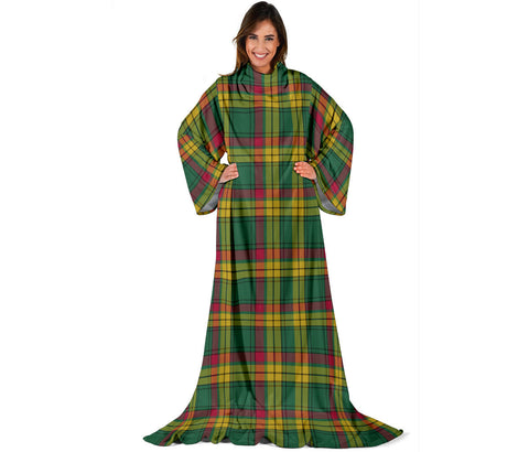 Image of MacMillan Old Ancient Tartan Clans Sleeve Blanket | scottishclans.co