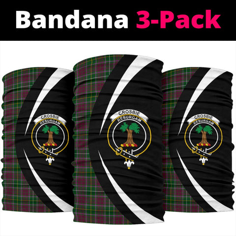 Image of Crosbie Tartan Bandana Circle