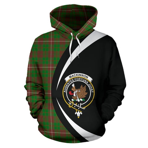 Image of MacKinnon Hunting Modern Tartan Circle Hoodie