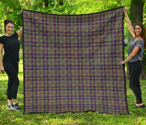 Taylor Weathered Tartan Premium Quilt | Scottishclans.co