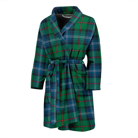 Urquhart Ancient Tartan Mens Bathrobe