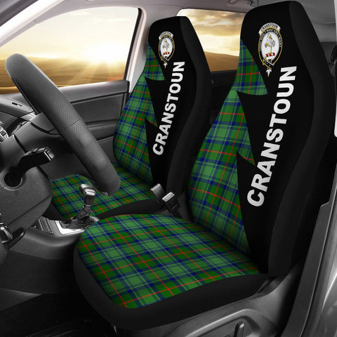 Cranstoun Clans Tartan Car Seat Covers - Flash Style