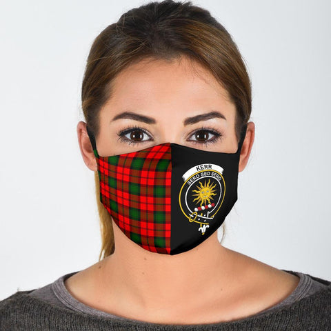 Kerr Modern  Tartan Mouth Mask The Half