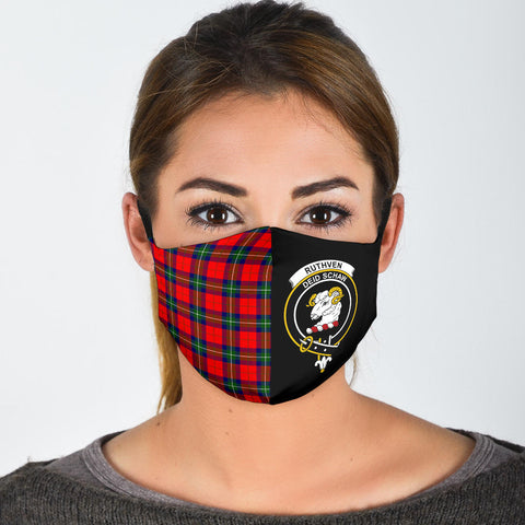 Ruthven Modern  Tartan Mouth Mask The Half