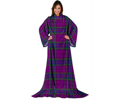 Wardlaw Modern Tartan Clans Sleeve Blanket | scottishclans.co