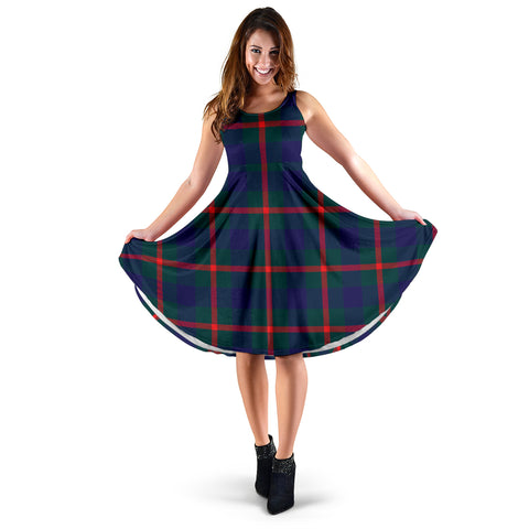 Agnew Modern Tartan Women's Dress