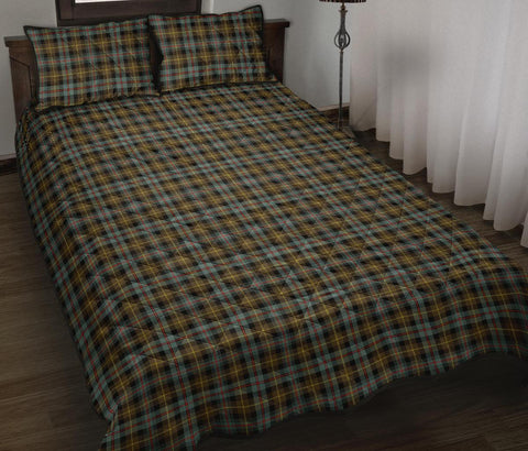 Farquharson Weathered Tartan Quilt Bed Set