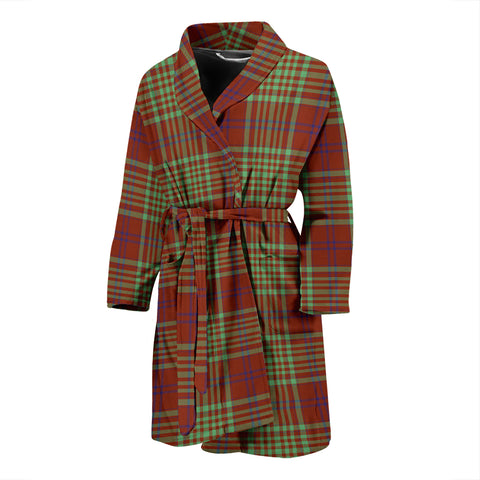 MacGillivray Hunting Ancient Tartan Mens Bathrobe