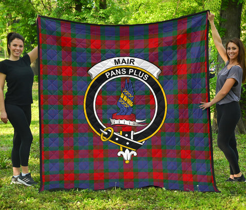 Mar Tartan Clan Badge Premium Quilt | Scottishclans.co