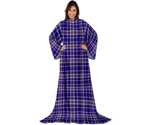 Image of Ochterlony Tartan Clans Sleeve Blanket | scottishclans.co