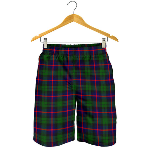 Urquhart Modern Tartan Shorts For Men