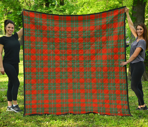 MacGregor Ancient Tartan Premium Quilt | Scottishclans.co