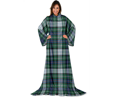 MacKenzie Dress Ancient Tartan Clans Sleeve Blanket | scottishclans.co