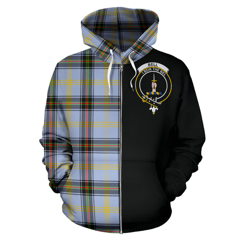 Bell of the Borders Tartan Hoodie Half Of Me