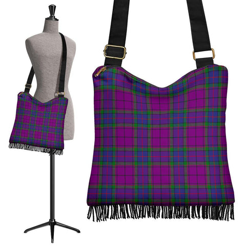 Wardlaw Modern Tartan Boho Handbag | scottishclans.co