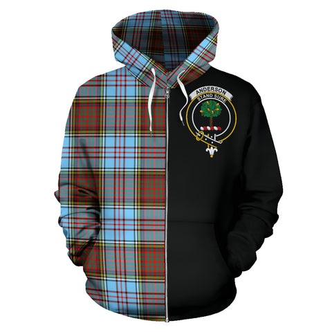 Image of Anderson Ancient Tartan Hoodie Half Of Me