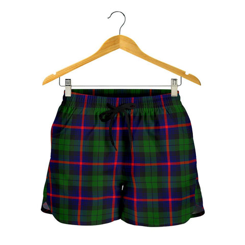 Urquhart Modern Tartan Shorts For Women