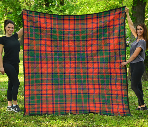 Stewart of Appin Ancient Tartan Premium Quilt | Scottishclans.co