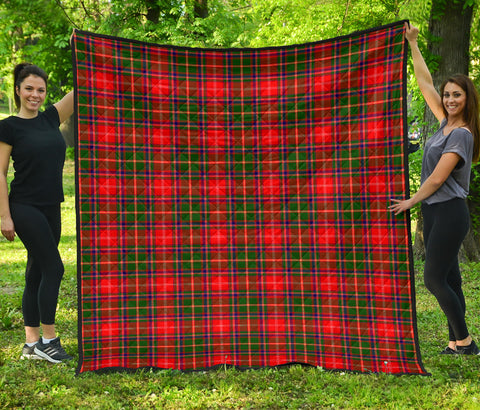 Image of Somerville Modern Tartan Premium Quilt | Scottishclans.co