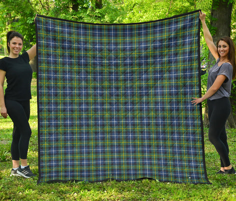MacNeill of Barra Ancient Tartan Premium Quilt | Scottishclans.co