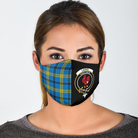Laing  Tartan Mouth Mask The Half
