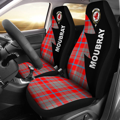 Image of Moubray Clans Tartan Car Seat Covers - Flash Style