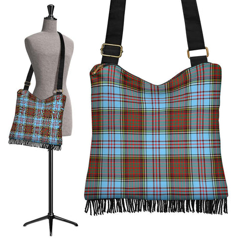 Image of Anderson Ancient Tartan Boho Handbag | scottishclans.co
