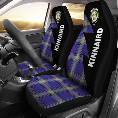 Kinnaird Clans Tartan Car Seat Covers - Flash Style