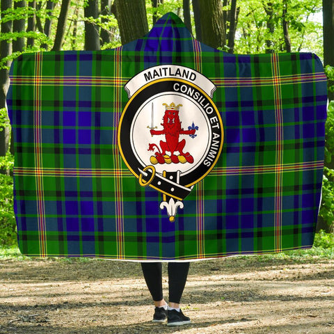 Image of Maitland Clans Tartan Hooded Blanket