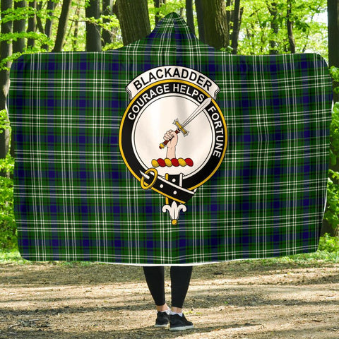 Blackadder Clans Tartan Hooded Blanket