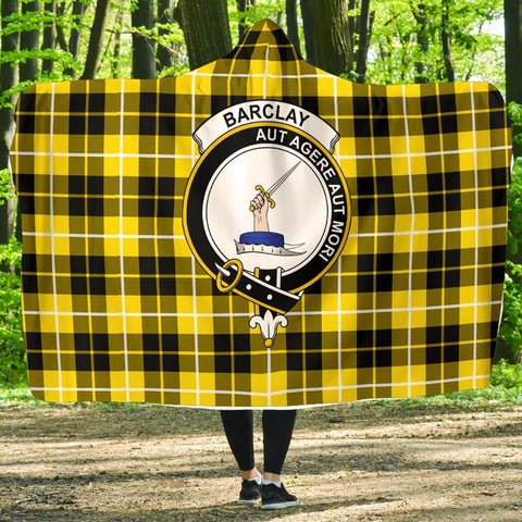 Barclay Clans Tartan Hooded Blanket