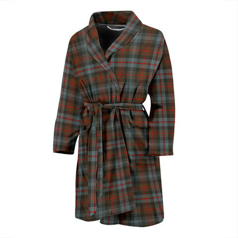 Murray Of Atholl Weathered Tartan Mens Bathrobe