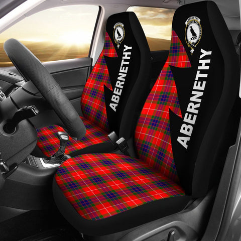 Abernethy Clans Tartan Car Seat Covers - Flash Style