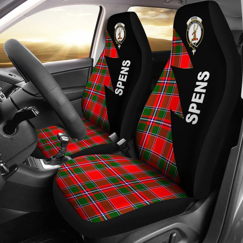 Spens Clans Tartan Car Seat Covers - Flash Style