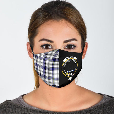 Hannay Modern  Tartan Mouth Mask The Half
