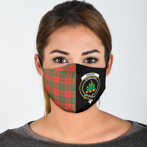 Grant Ancient  Tartan Mouth Mask The Half