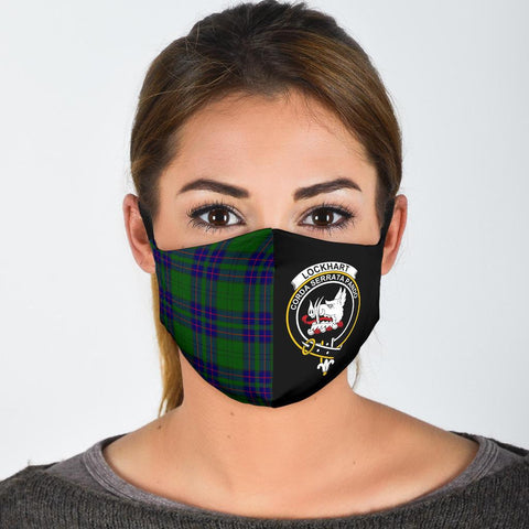 Lockhart Modern  Tartan Mouth Mask The Half