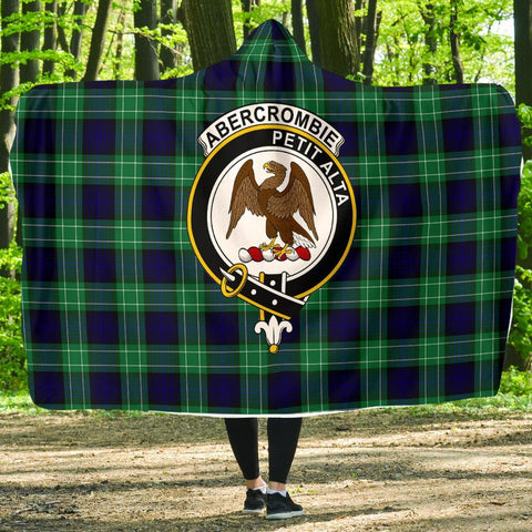Image of Abercrombie Clans Tartan Hooded Blanket