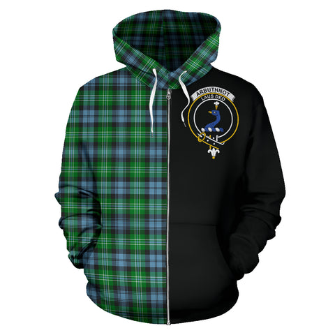Image of Arbuthnot Ancient Tartan Hoodie Half Of Me