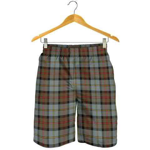 Image of MacLeod of Harris Weathered Tartan Shorts For Men
