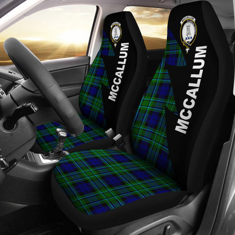 Image of McCallum Clans Tartan Car Seat Covers - Flash Style - BN