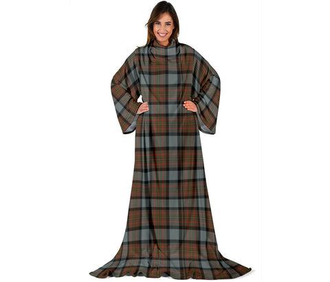 MacLaren Weathered Tartan Clans Sleeve Blanket | scottishclans.co