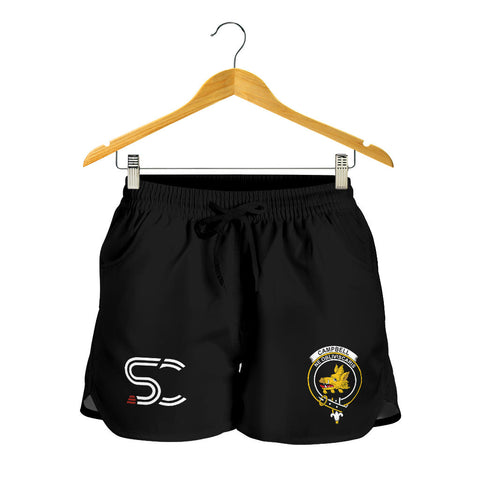 Image of Campbell Faded Clan Badge Women's Shorts