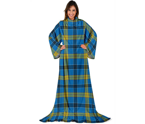 Laing Tartan Clans Sleeve Blanket | scottishclans.co