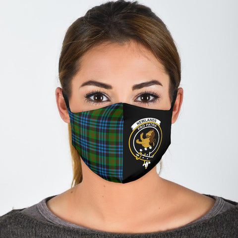 Newlands of Lauriston  Tartan Mouth Mask The Half