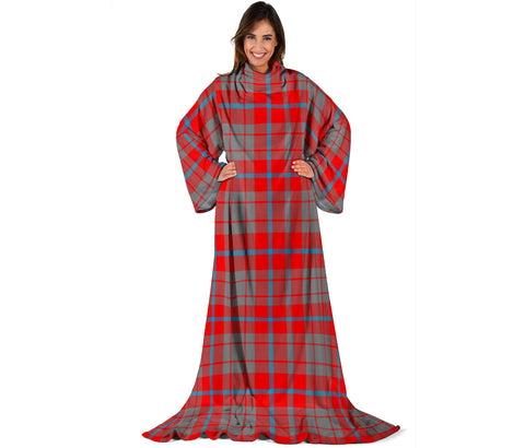 Image of Moubray Tartan Clans Sleeve Blanket | scottishclans.co